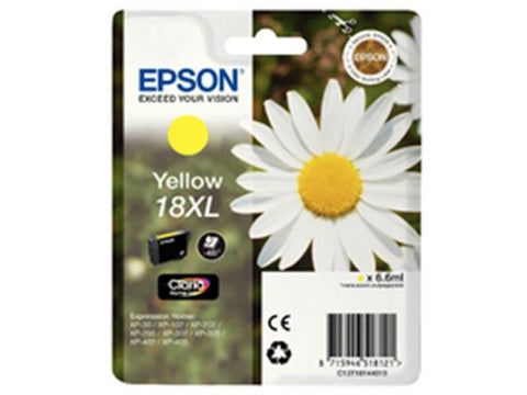 Epson 18XL T1814 Yellow Ink Cartridge Daisy C13T18144010