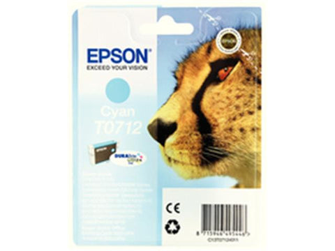 Epson T0712 Cyan Ink Cartridge C13T071240A0