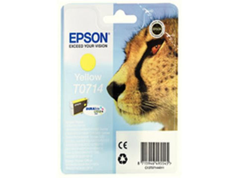 Epson T0714 Yellow Ink Cartridge C13T071440A0