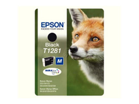 Epson T1281 Black Ink Cartridge Fox C13T12814011