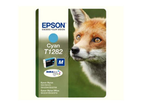 Epson T1282 Cyan Ink Cartridge Fox C13T12824011
