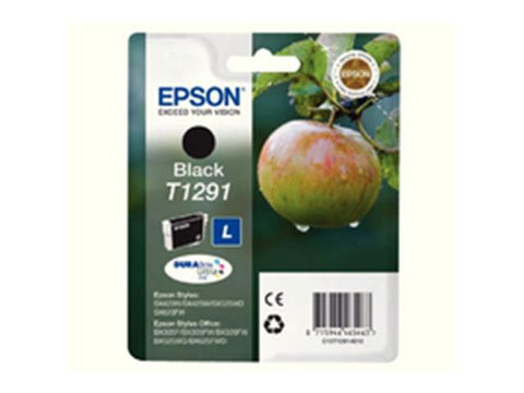 Epson T1291 Black Ink Cartridge Apple C13T12914011
