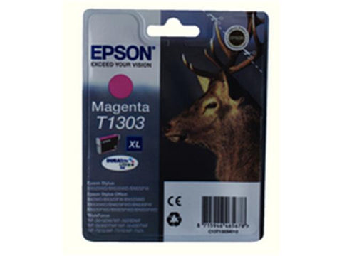 Epson T1303 Magenta Ink Cartridge Stag C13T13034010