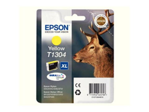 Epson T1304 Yellow Ink Cartridge Stag C13T13044010