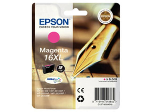 Epson 16XL T1633 Magenta Ink Cartridge Pen Crossword C13T16334010