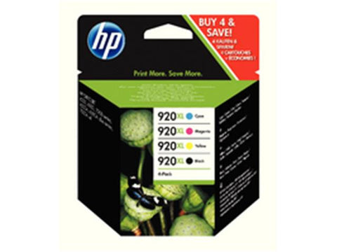 HP 920XL Multipack Ink Cartridges C2N92AE