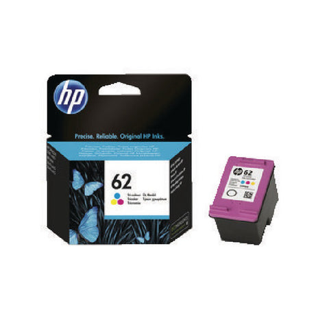 HP 62 Colour Ink Cartridge C2P06AE
