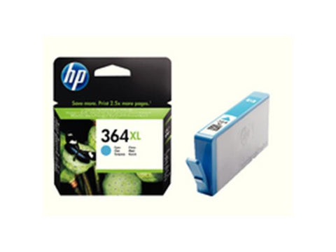 HP 364XL Cyan Ink Cartridge CB323EE