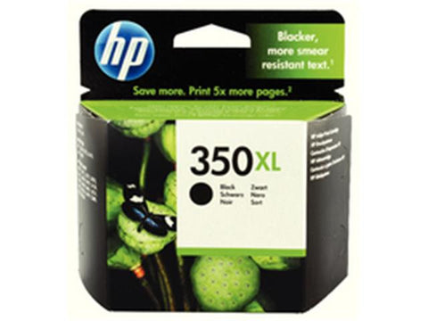 HP 350XL Black Ink Cartridge CB336EE