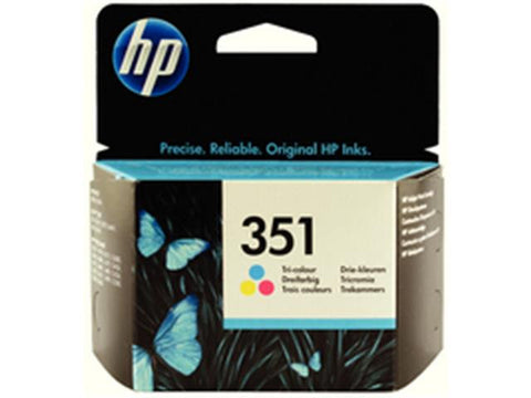HP 351 Tri Colour Ink Cartridge CB337EE