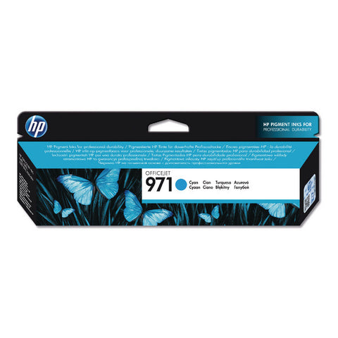 HP 971 Cyan Ink Cartridge CN622AE