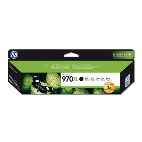 HP 970XL Black Ink Cartridge CN625AE
