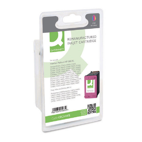 HP 300XL Colour Ink Cartridge CC644EE Remanufactured