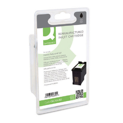 HP 337 Black Ink Cartridge C9364EE Remanufactured