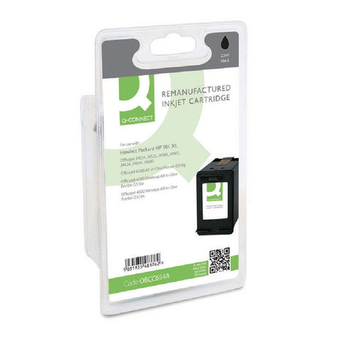 HP 901XL Black Ink Cartridge CC654AE Remanufactured