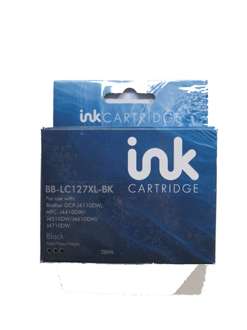 Compatible Brother LC127XL Black Ink Cartridge
