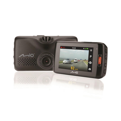 Mio MiVue 608 Dashboard Camera - 1080p - Black MIVUE608