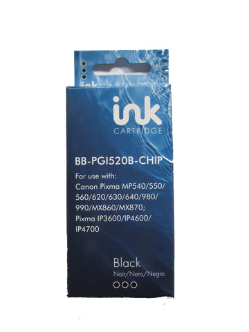 Compatible Canon PGI-520 Black Ink Cartridge 2932B001