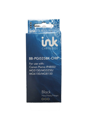 Compatible Canon PGI-525 Black Ink Cartridge 4529B001