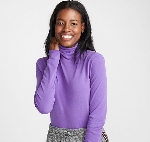 3tree organic cotton turtleneck