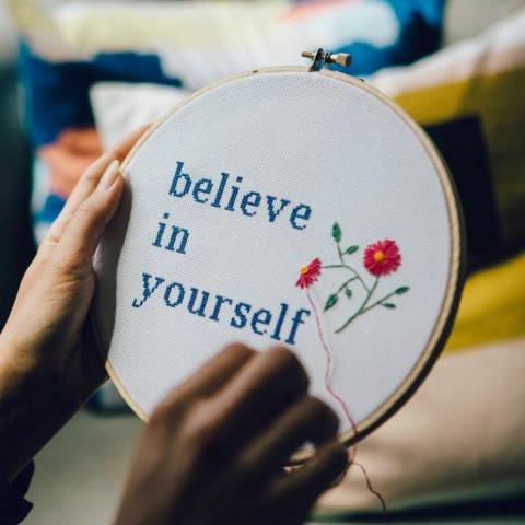 Motivational Cross Stitch