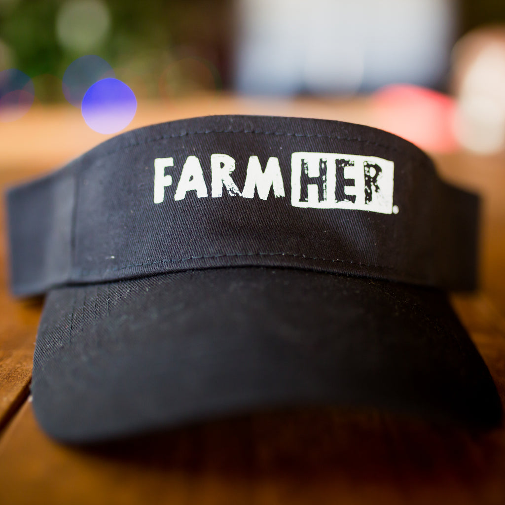 FarmHer Cotton Twill Visor