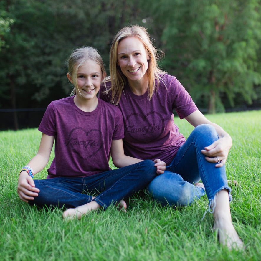 "FarmHer ""Heart Shirt"" Youth T-Shirt"