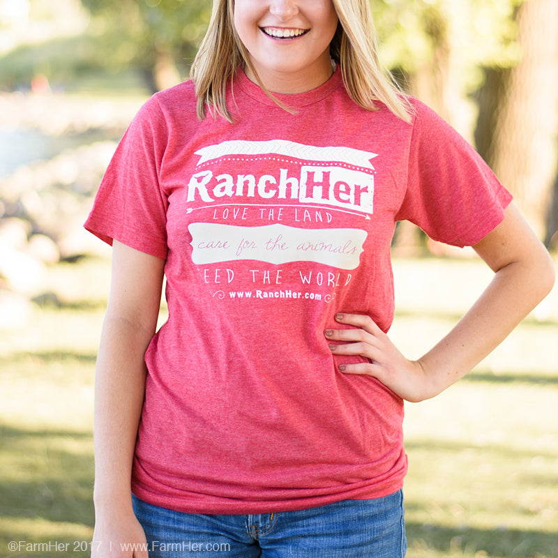 "RanchHer ""Care For The Animals"" Non-Fitted T-Shirt"