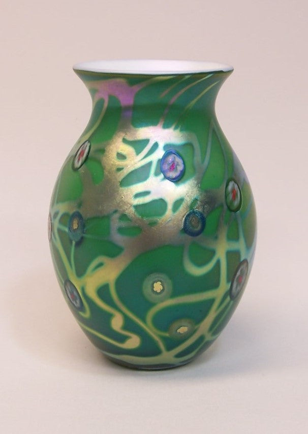 Emerald Murrini Cabinet Vase