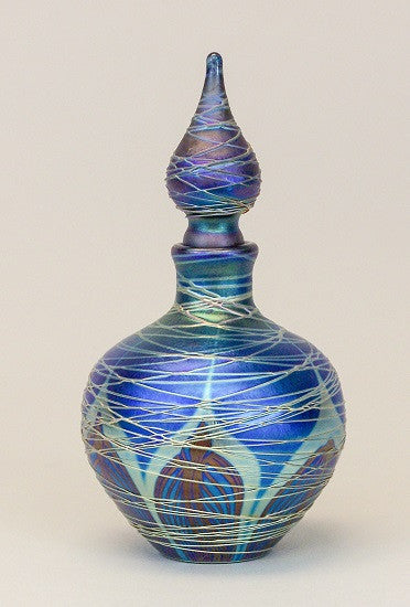 Blue Feather Wrap Nouveau Perfume