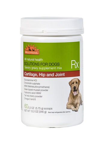 WellyTails Cartilage, Hip & Joint Dog Rx Supplement