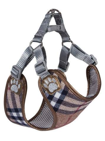 Pretty Paw Scotland Taupe Harness