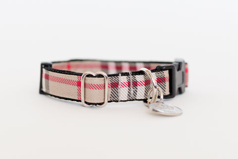 Pilouf Burberry Cat and Dog Collar