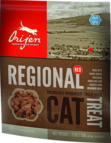 Orijen Regional Red Freeze Dried Treats For Cats
