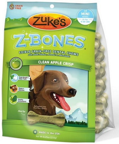 Zukes Zbones Clean Apple Crisp