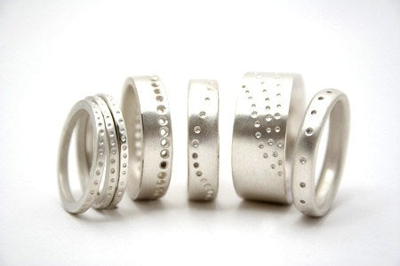 Dotty Ring Collection