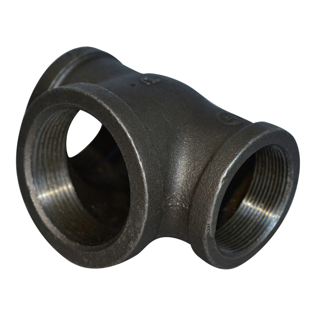 What is the difference between malleable iron and forged iron pipe fittings?