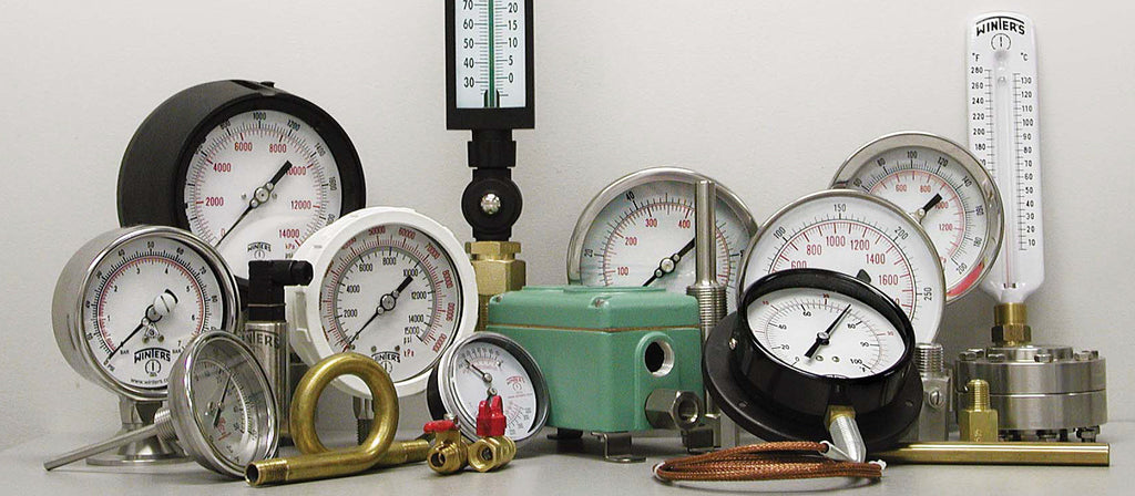 Addition of Winters Pressure Gauges & Thermometers