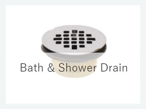 Bath & Shower Drains