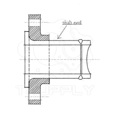 Metal Pipe Flange - Pipe Fitting | Weld neck - Slip on