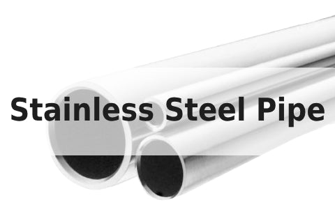 24 inches long 2 inch NPS Schedule 40S 304 Welded Stainless Steel Pipe