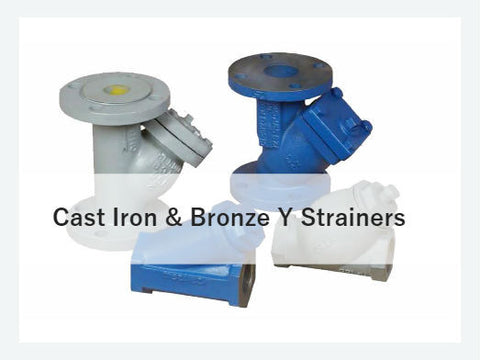 Cast Iron & Bronze Y Strainers