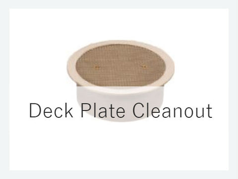 Deck Plate Cleanout