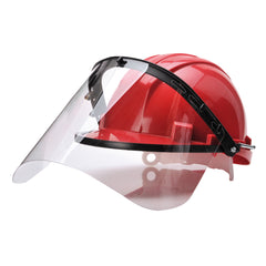 hard hat with a visor