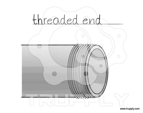 threaded end pipe