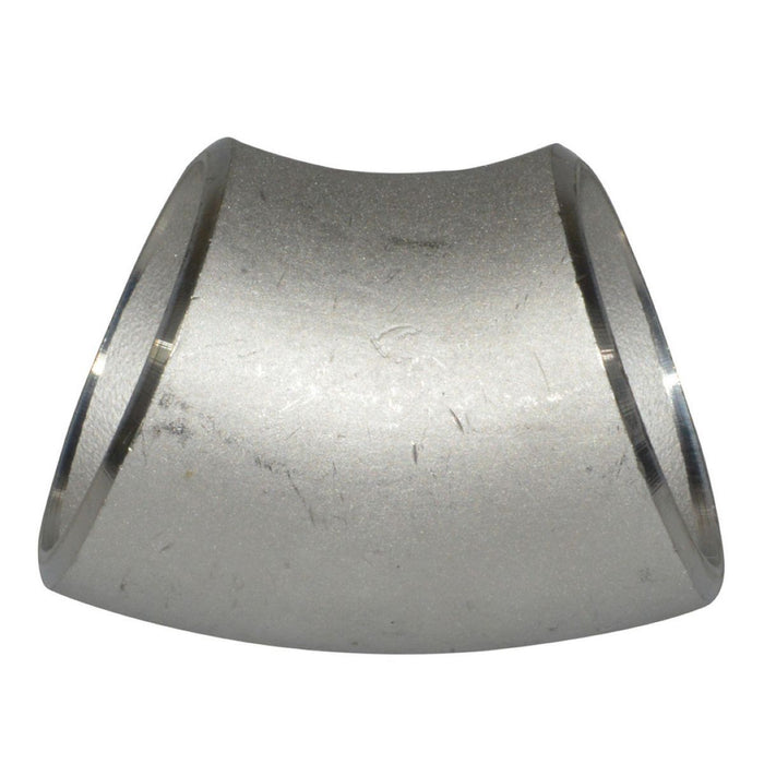 Long Radius 45 Elbow | Butt Weld Fitting | SS316 Seamless | Import