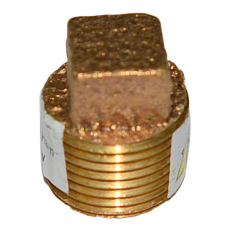Square Head Plug | Bronze | Profile