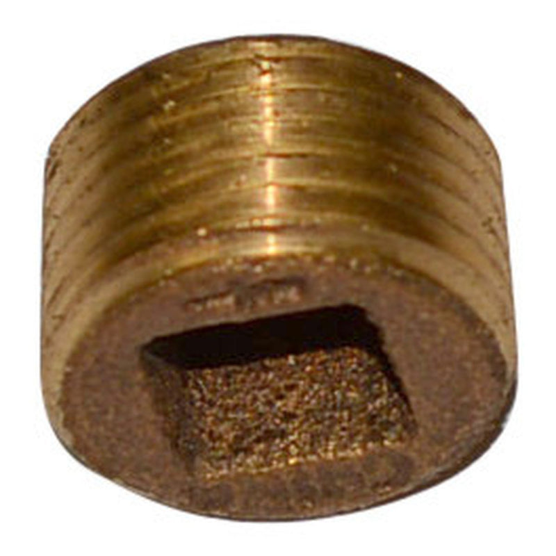 Square Hole Plug | Bronze | Profile