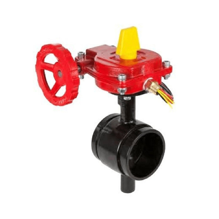 Grooved End Butterfly Valve With Indicator