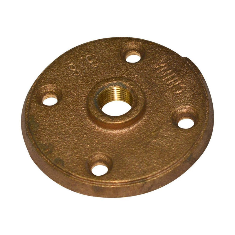 Floor Flange | Bronze | Profile